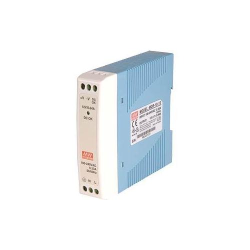 Mean Well MDR-10-24 24V 0,42A tápegység