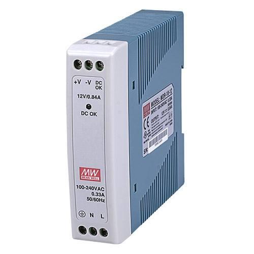 Mean Well MDR-10-12 12V 0,84A tápegység