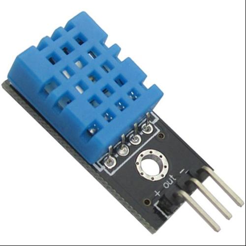 Arduino DHT11-M hőmérséklet és páratartalom érzékelő