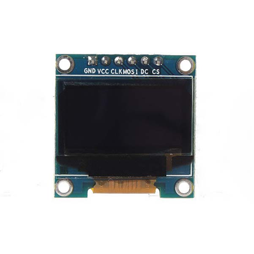 Arduino D096-12864-SPI6 OLED kijelző 128*64