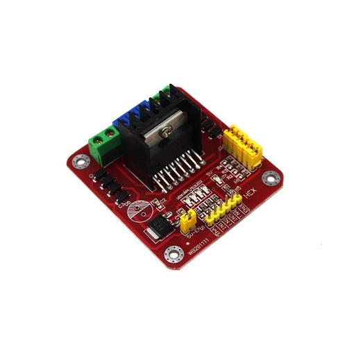 Arduino L298N-HEXMOD kettős teljes H-híd