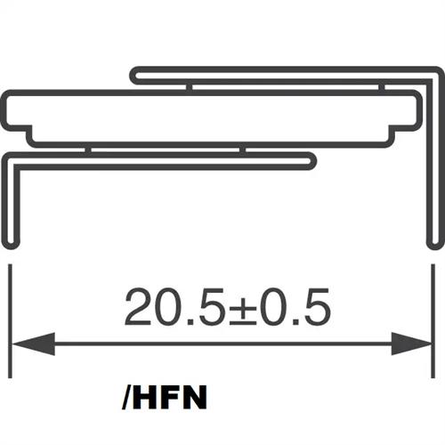 VL-2020/HFN 3V lítium akkumulátor forrfüles