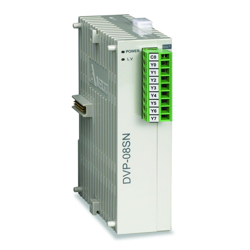 DELTA DVP08SN11T  PLC I/O bővítő modul 8 db tranzisztor kimenettel