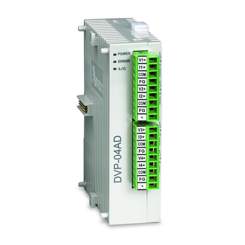 DELTA DVP04AD-S2 PLC analóg bővítő modul