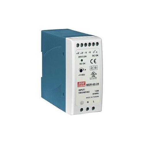 Mean Well HDR-60-24 24V 2,5A tápegység