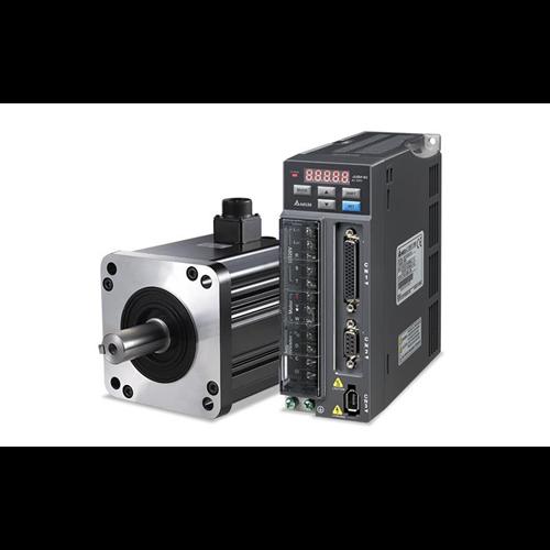 DELTA ASD-B2 400W komplett szervo hajtás szett 230V, 1 fázis