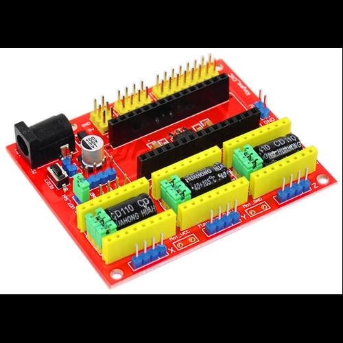Arduino CNC-SHLD4-NANO 3 tengelyes léptetőmotor meghajtó panel