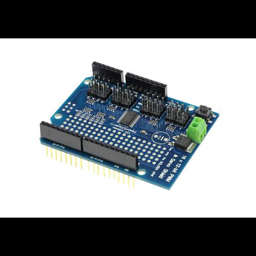 Arduino SERVO16-SHLD 16 csatornás szervó vezérlő shield PWM I2C
