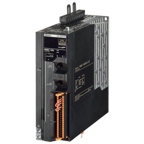 OMRON R88D-1SN04H-ECT 1S szervó drive, EtherCAT, 400W, 230VAC