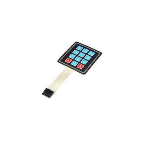 Arduino KP-4X3/MEM billentyűzet