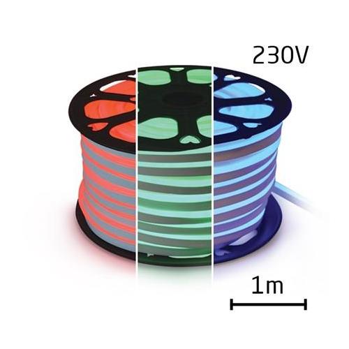 LEDSZALAG hajlékony neon 230V 60 LED / m 14,4W / m meleg RGB (1m)
