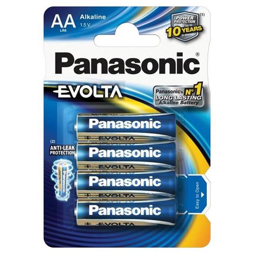 PANASONIC EVOLTA 1,5V AAA mikroceruza elem