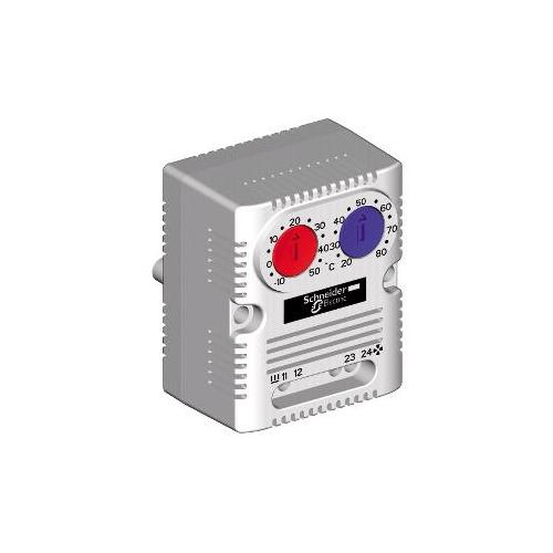 Schneider NSYCCOTHD kettős termosztát (hűtés-fűtés) NO/NCCº