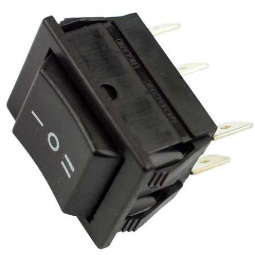Billenő kapcsoló 30x25 két áramkörös, három állású (ON)-OFF-(ON) rugós csúszóéritkezős