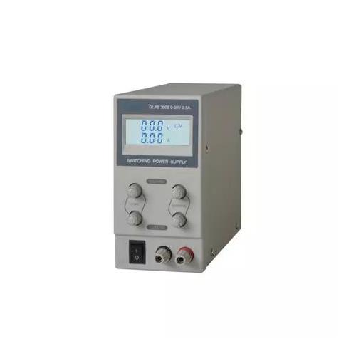 GETI labor tápegység GLPS3005 0-30VDC 0-5A