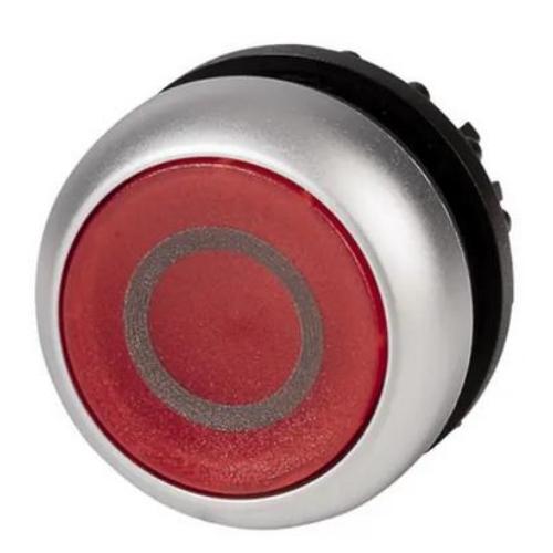 EATON M22-DL-R-X0 piros átvilágítható nyomógomb 0 piktogrammal