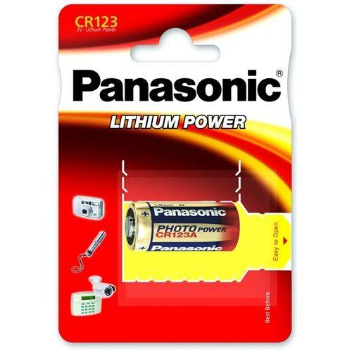 PANASONIC CR123A 12V fotoelem