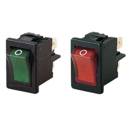 Billenő kapcsoló 20X15 két áramkörös, két állású világító 230VAC
