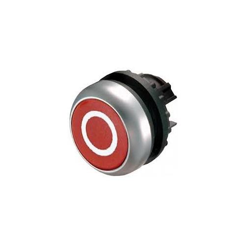 EATON M22-D-R-X0 piros nyomógomb fej