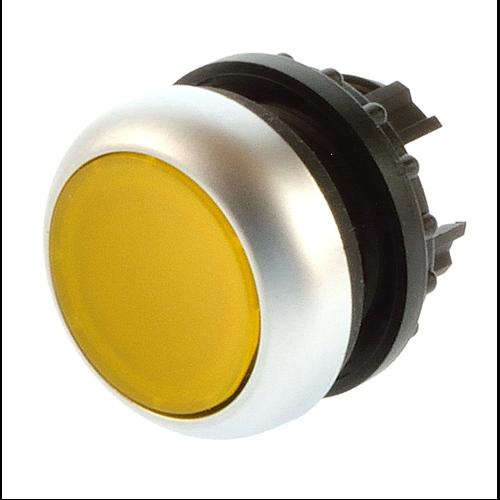 EATON M22-DL-Y sárga átvilágítható nyomógomb