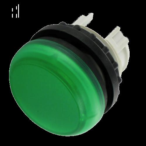EATON M22-L-G zöld jelzőlámpa fej