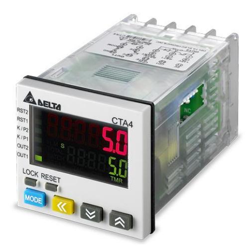 DELTA CTA4100D Számláló/időzítő/tachométer