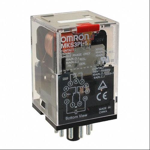 OMRON MKS3PI-5 24VAC ipari relé