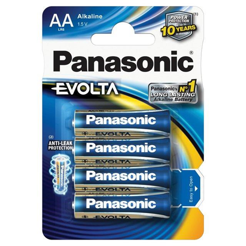 PANASONIC EVOLTA  AA 1,5V Ceruza elem