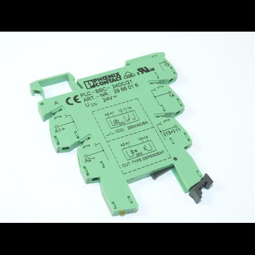 PHOENIX CONTACT PLC-BSC-24DC/21 reléfoglalat