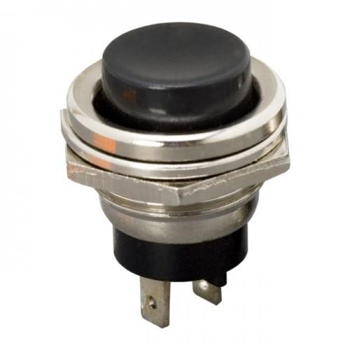 Reset nyomógomb bontó 1 áramkör ON - (OFF) 2 A - 250 V AC piros/fekete