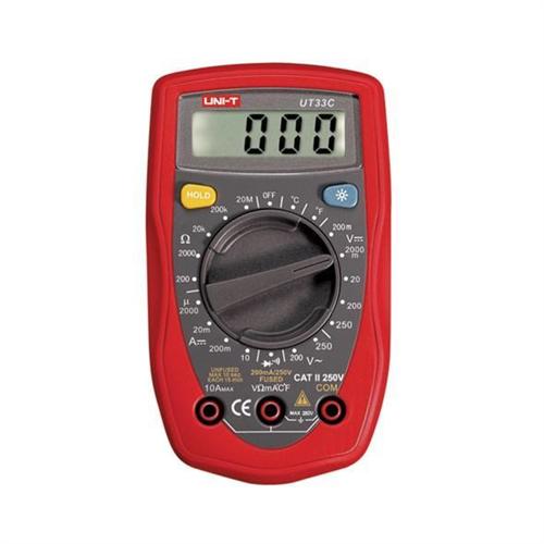 UNI-T UT33C Digitális mérőműszer