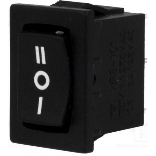 Billenő kapcsoló 20X15 egy áramkörös, három állású 6A I-O-II