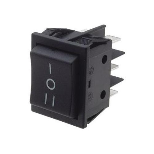 Billenő kapcsoló 30x25 két áramkörös, három állású I-O-II váltó