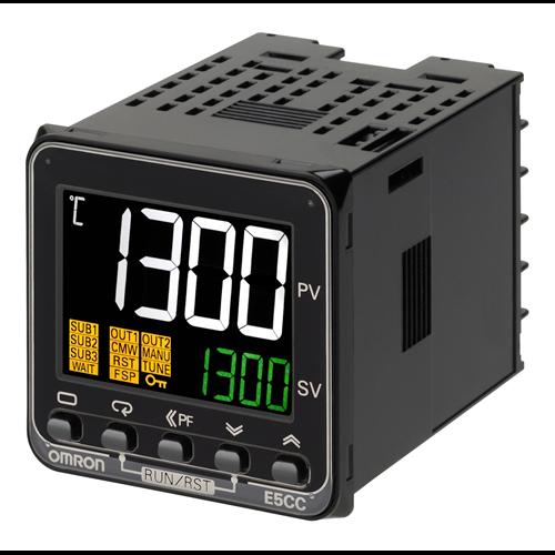 OMRON E5CC-QX3A5M-000 hőmérséklet szabályzó