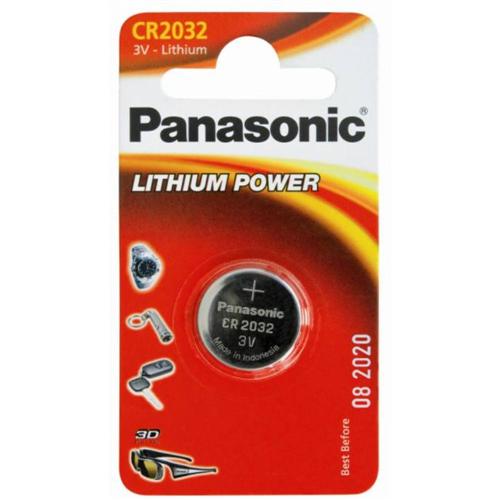 PANASONIC CR2032 3V elem