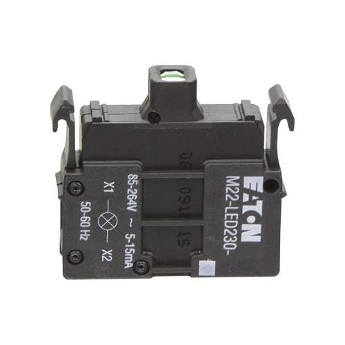 EATON M22-LEDC 230-R piros jelzőlámpa 230VAC