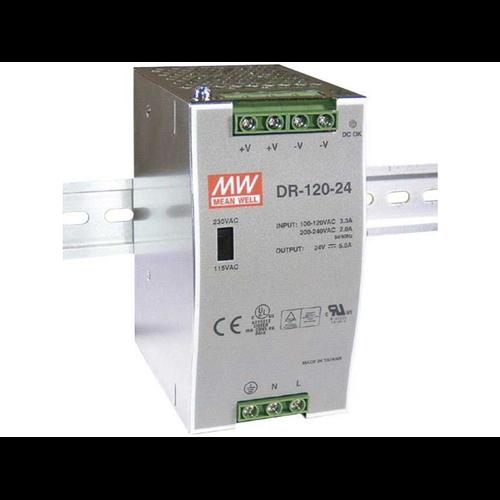Mean Well MW DRH-120-24  120 W tápegység