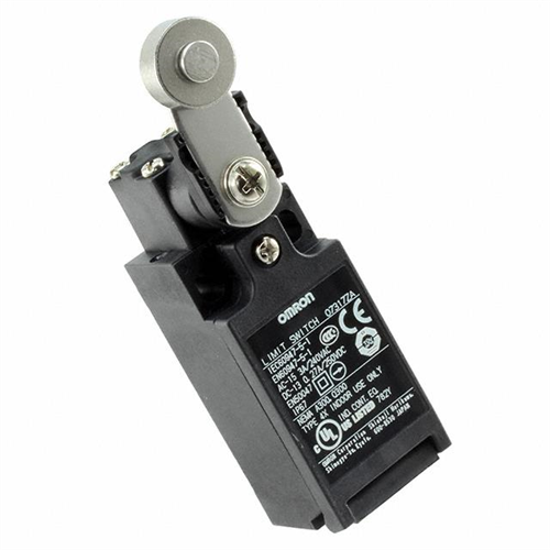 OMRON D4N-4C25 végálláskapcsoló Fém kar és görgő 2NC/1NO