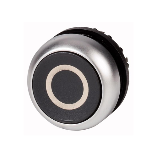 EATON M22-DR-S-X0 fekete nyomógomb fej