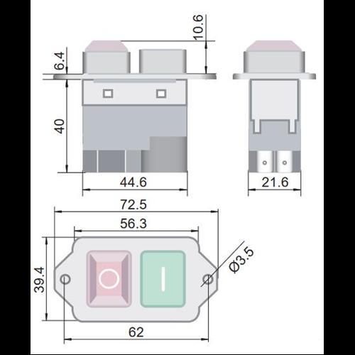 TRACON SSTM-04 Relés biztonsági kapcsoló