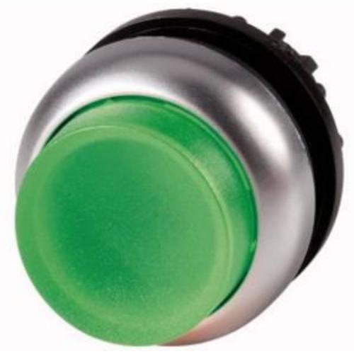 EATON M22-DLH-G zöld átvilágítható nyomógomb fej