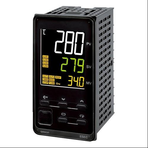 OMRON E5EC-QX4-A5M000 hőmérséklet szabályzó