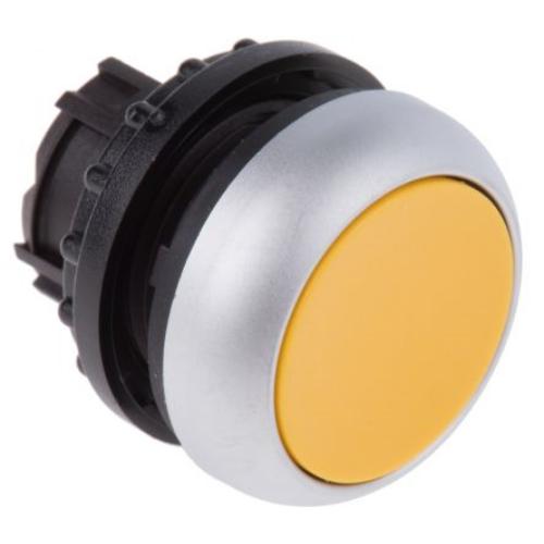 EATON M22-D-Y sárga nyomógomb fej