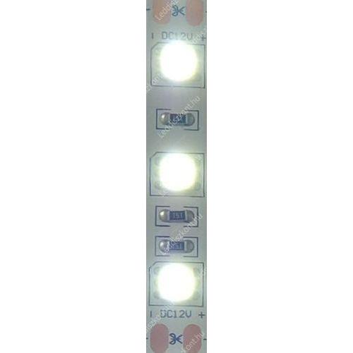 LEDSZALAG 5050 60/m 13,2W/m 6500K 1050Lum  IP65 hideg fehér