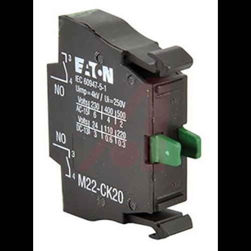 EATON M22-CK20 működtető elem, 2 záró